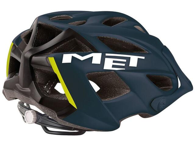MET Terra Casque, matt petrol blue/black